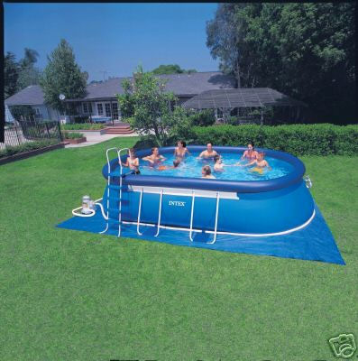 intex above ground pool rectangle30 ground