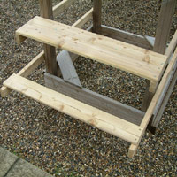 Wooden Climbing Frame Accessories PlayCentre Play System UK Action Tramps