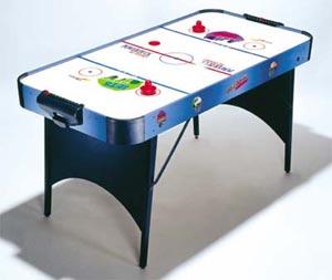 Beau BCE / Riley   4ft Blue Veneer Air Hockey Table (H4D 111+)
