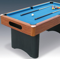 BCE / Riley - 6ft Riley Pool Table with Ball Return (JL.2B+)
