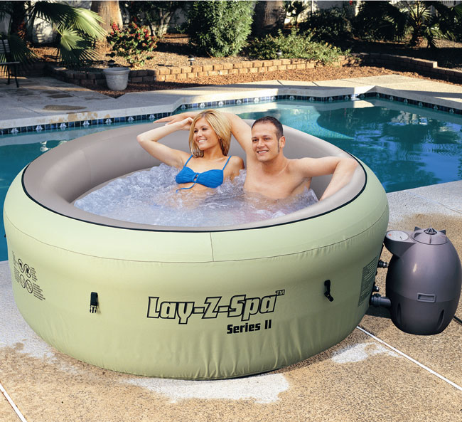 Portable Spa Bestway Lay Z Spa Jacuzzi Hot Tub Uk