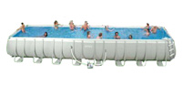 Intex Swimming Pool Rectangular UK Frame Pools Cover Above Ground AGP