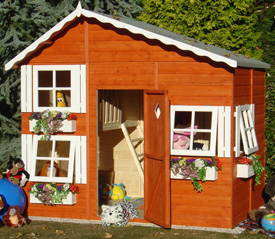 Shire Loft Playhouse Playhouses Play House Children Garden