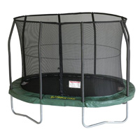 Jumpking Mini OvalPOD Mini Oval JumpPOD Oval Trampoline UK Trampolines